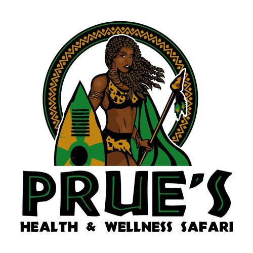african girl logo