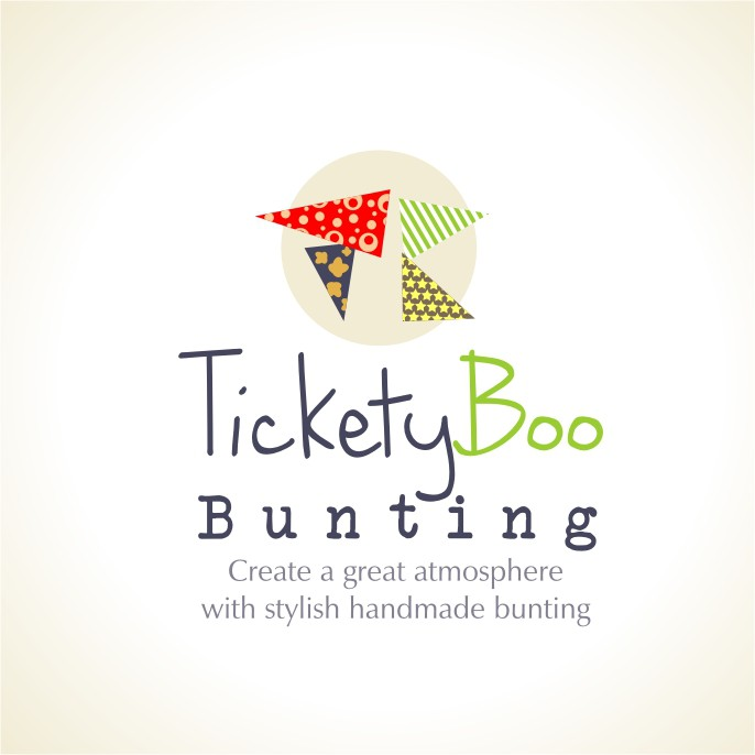 Help Tickety Boo Bunting  with a new logo