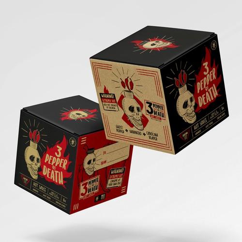 Hot Sauce Box Design