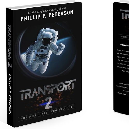 Book Cover Design for Transport 2