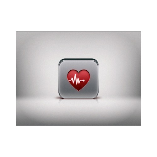 Need UNIQUE iPhone app icon for heart rate watch app!
