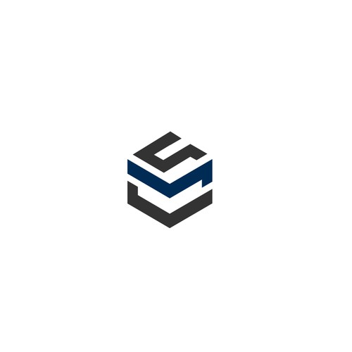 Simple cubic logo, the beauty of the design will ne in the subtlety
