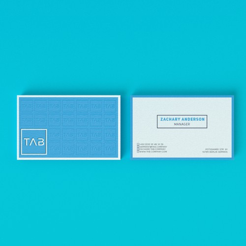 tab bussines card