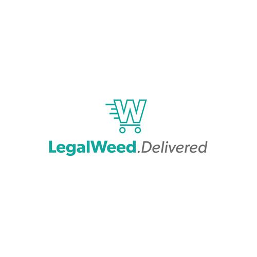 Logo for Legal Marijuana Delivery Company