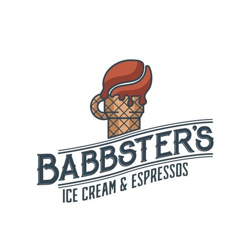 Ice cream and coffee shop