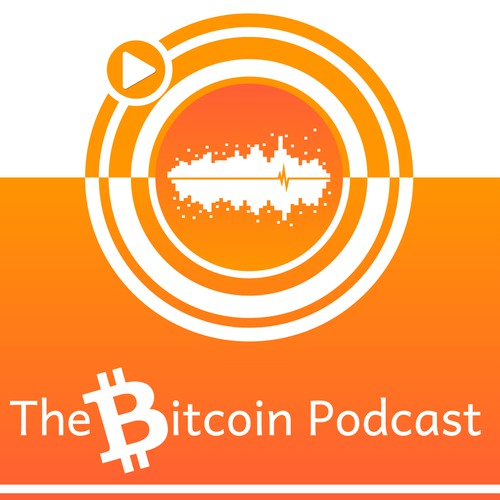 cover art for new podcast about bitcoin!