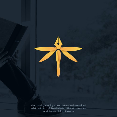 Logo concept for school