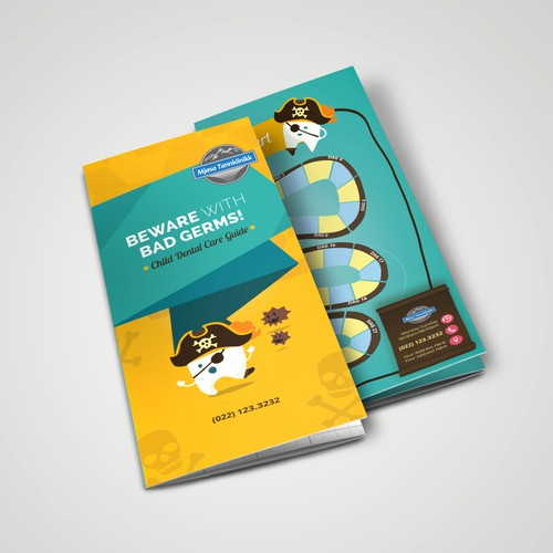 Fun Brochure Design for Kids dental services