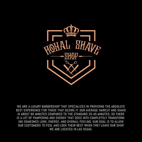 Royal Shave Shop Logo