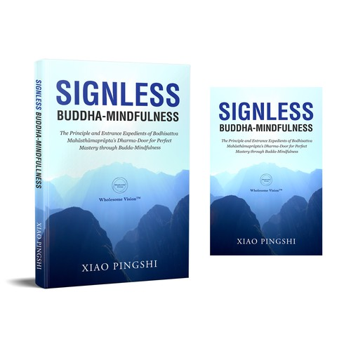 Simple Book Cover Design for a Religious Book