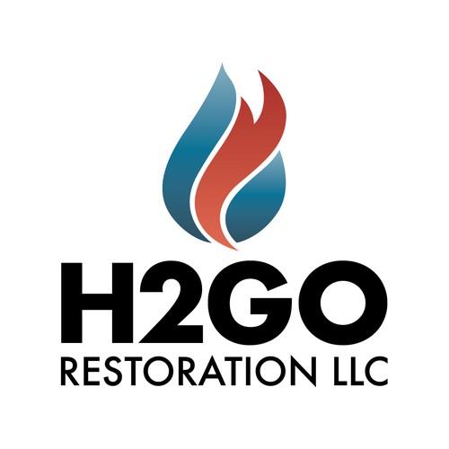 Logo | H2GO Restoration LLC
