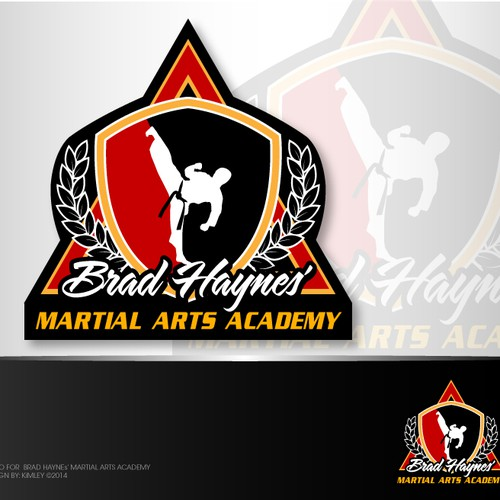 Create a winning logo for my family martial arts academy!