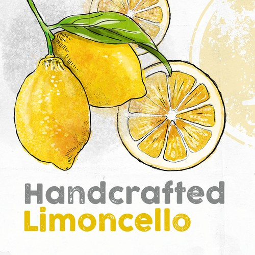 Label for a Limoncello