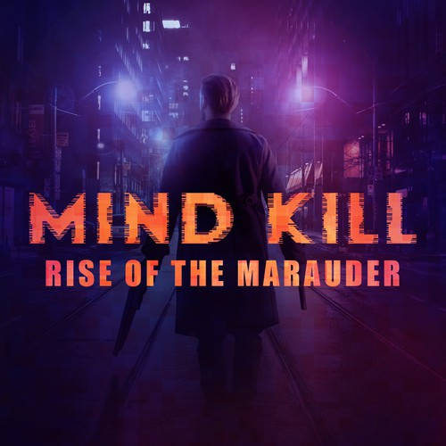 Cinematic Cover for a Thriller Action Novel