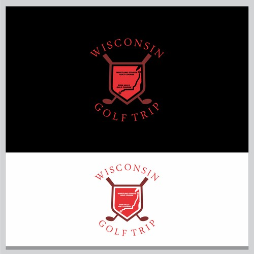 12-man Wisconsin Golf Trip logo
