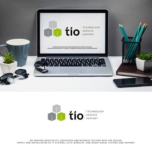 refresh of TIO logo and slogan
