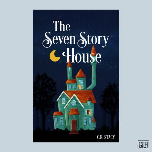 儿童书籍封面的第一个素描