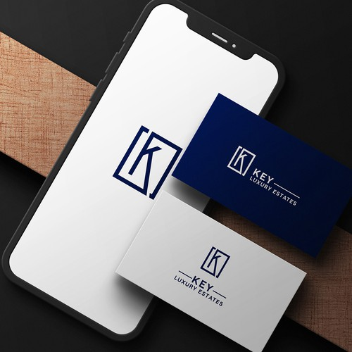 Logo for a luxury real estate