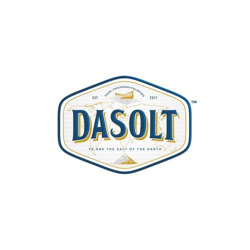 Logo design for a Salt Company