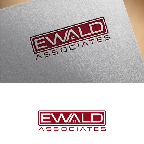 "Create a beautifuly clever logo for a Luxury Realty ""Ewald & Associates"""
