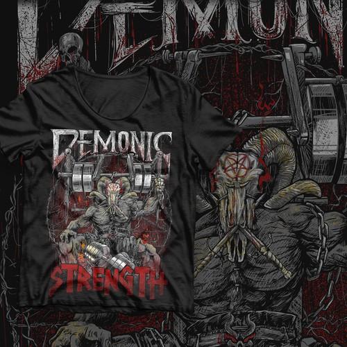 Demonic Strenght tshirt