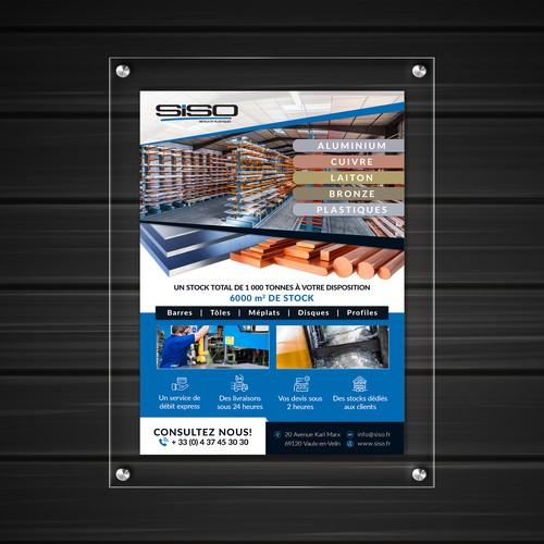 Poster Design for SISO Meraux et Plastiques