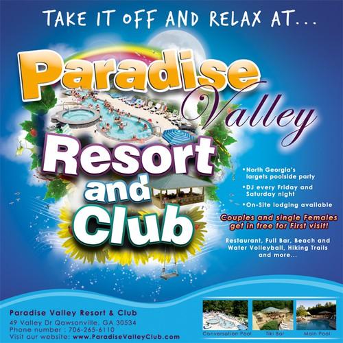 Newspaper ad-clothing optional resort $100 bonus-see comments