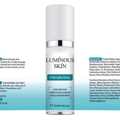 Winning design for Luminous Skin