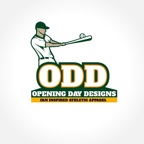 """Logo for """"Opening Day Designs"""""""