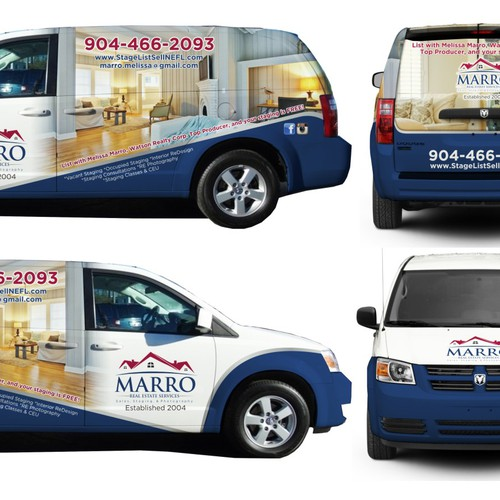 car wrap for Marro