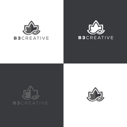 Logo for b3 creative