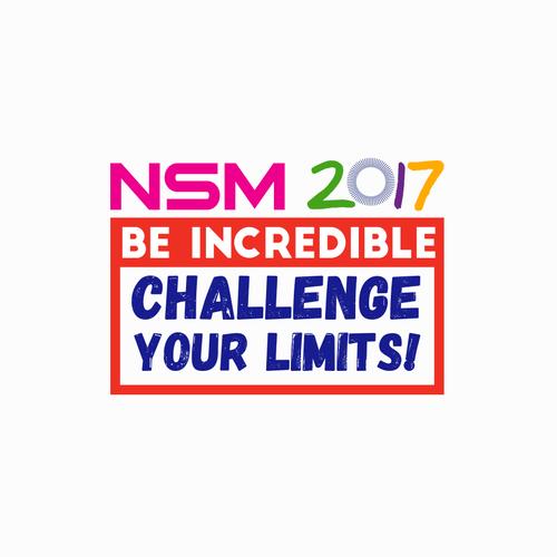 Bold logo for NSM 2017!