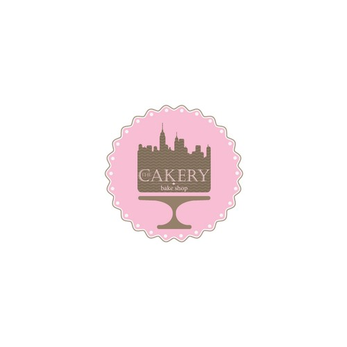 Create the next logo for The Cakery Bake Shop