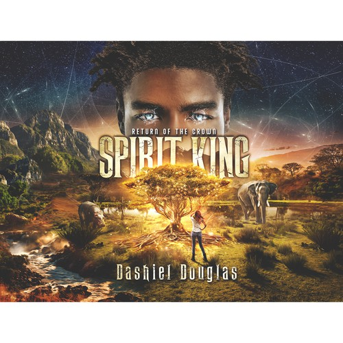 'Spirit King' book cover