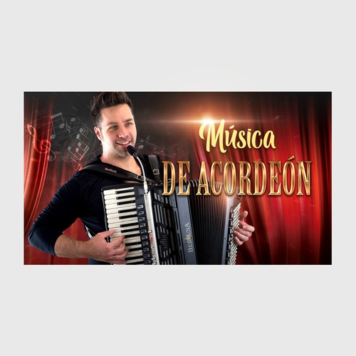 Cover for a youtube music video of accordeon music