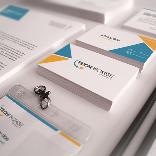 IT Company Needs Fresh Logo & Letterhead