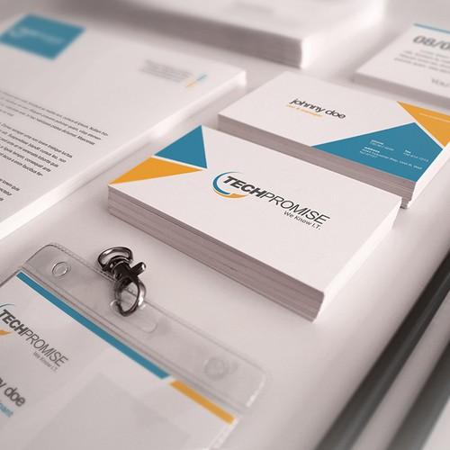 IT Company Needs Fresh Logo & Letterhead