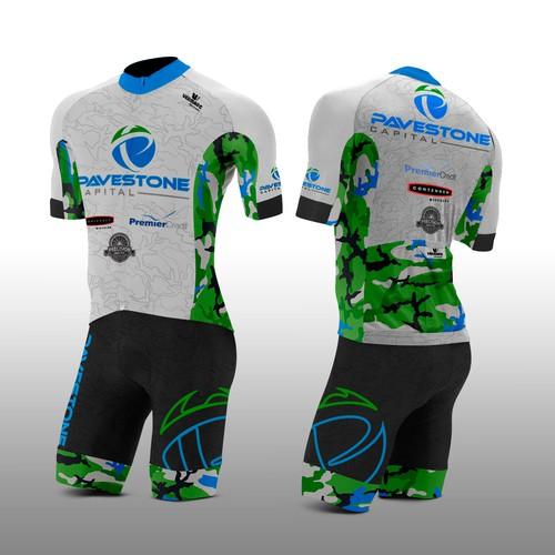 Modern cycling kit design