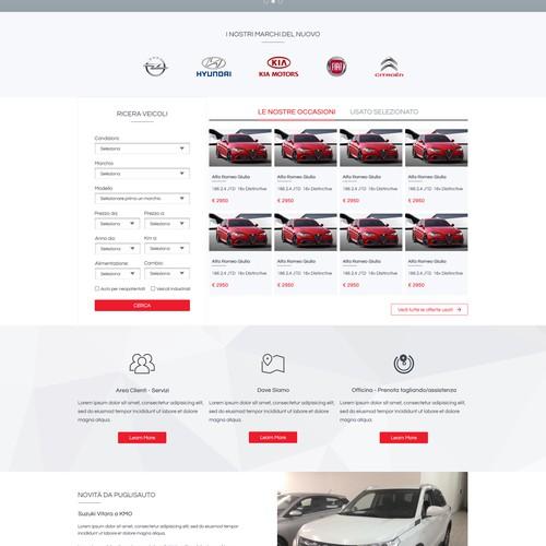 Homepage for PuglisAuto