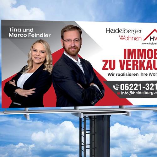 Heidelberger Wohnen Billboard