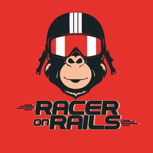 Logo Design for Racer on Rails