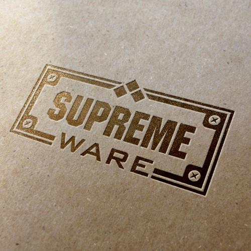 Logo for Supreme Ware brand