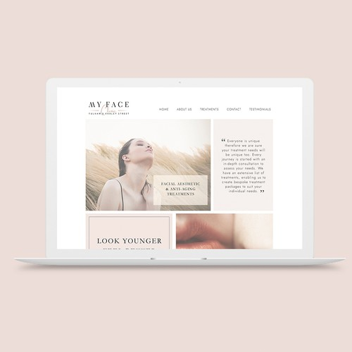 My Face Clinic Website
