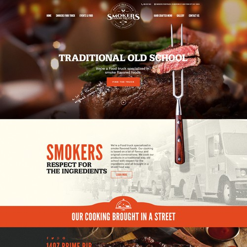 Web site design concept