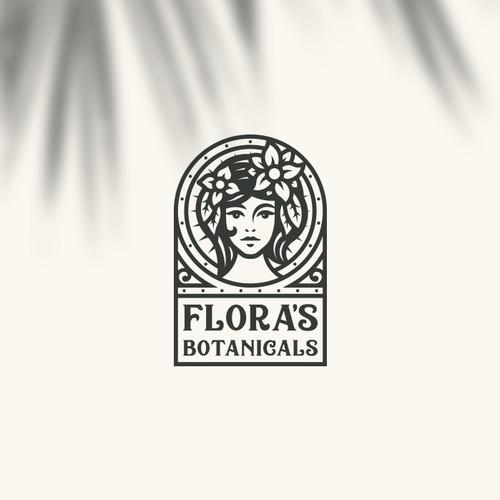 Flora's Botanicals Logo