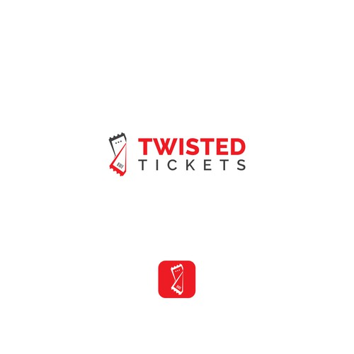 """Logo for """"Twisted Tickets"""""""