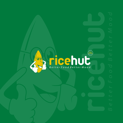 concept logo for ricehut