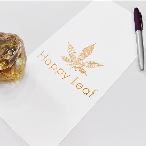 Branding concept for Happy Leaf