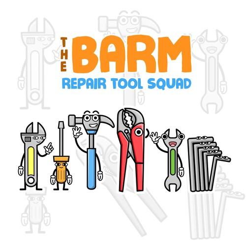 The 6 Characters of Repair Tool Set