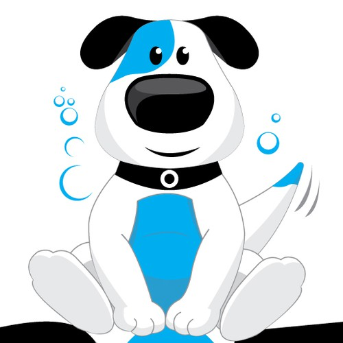 DOG/PUPPY FACE - LOGO DESIGN FOR FUN DOG WASH COMPANY!
